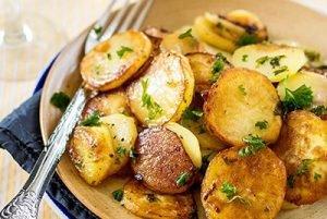 блюдо с картофеля