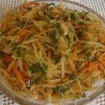Як приготувати картоплю по-корейськи