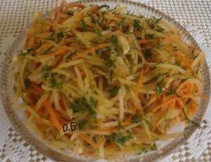 картофель по-коррейски